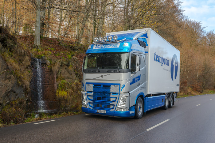 Lastbil från Tommy Nordbergh Åkeri